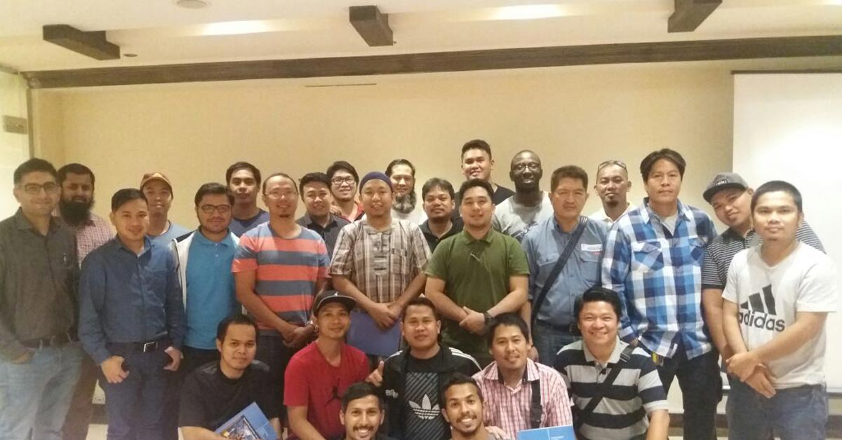 OSHA 30 Hours G.I. course conducted in Jeddah, Saudi Arabia